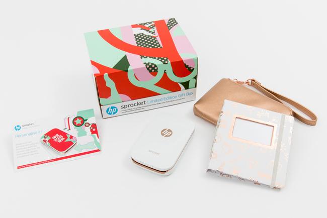 La nueva edición limitada de HP Sprocket se convierte en el dispositivo perfecto para capturar y compartir los mejores recuerdos