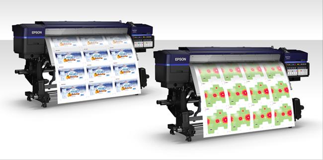 Las impresoras de tinta solvente Epson SureColor S-Series galardonadas por Keypoint Intelligence
