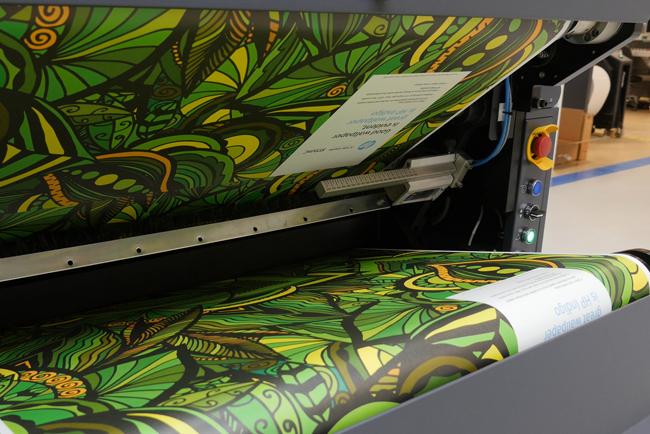 La feria Heimtextil muestra todo el potencial  que ofrecen las soluciones de impresión digital de HP para el mundo de la decoración