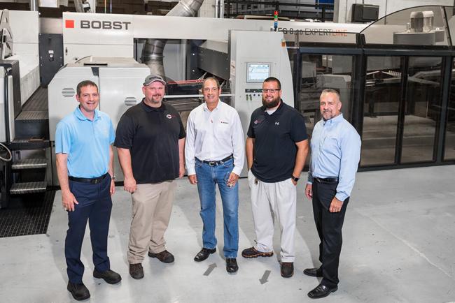 Acme Corrugated Box pulveriza el récord de producción con una plegadora-pegadora BOBST