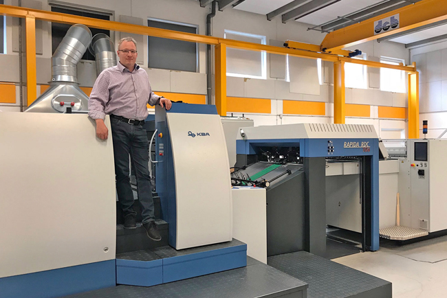 ScanMould uses rotary die-cutting for inmould labels
