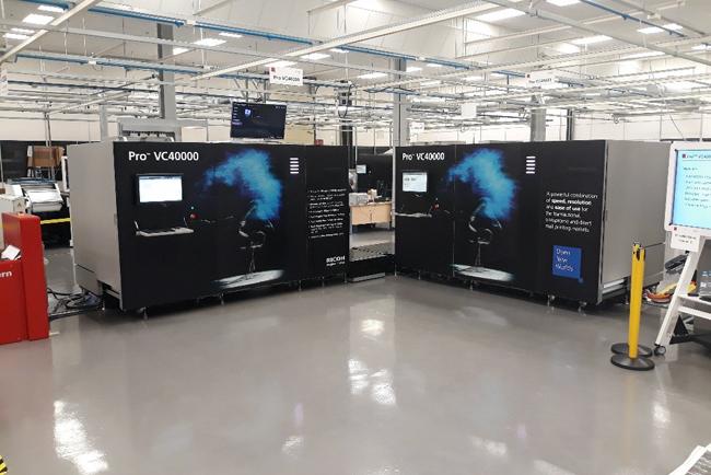 Ricoh lanza las nuevas impresoras Pro V20000 y Pro VC40000, que amplían su gama de inyección de tinta de alta producción