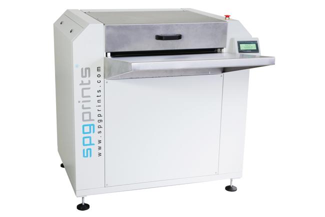 El nuevo sistema de revelado y secado RotaPlate Dev & Dry de SPGPrints estandariza la calidad