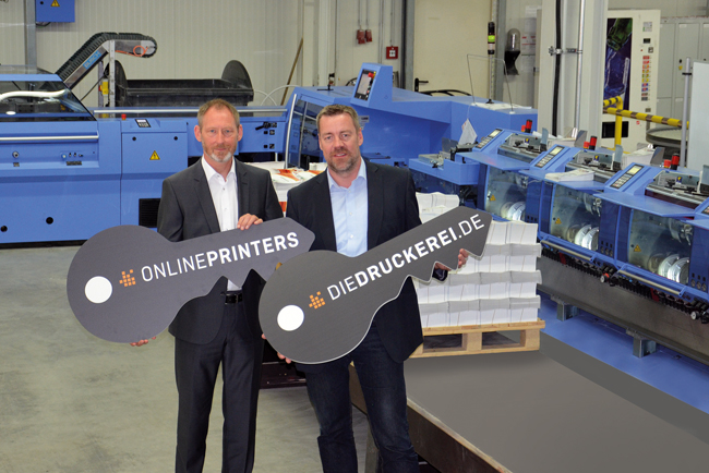 A New Primera MC at Onlineprinters Provides Greater Capacity and a Reliable Backup