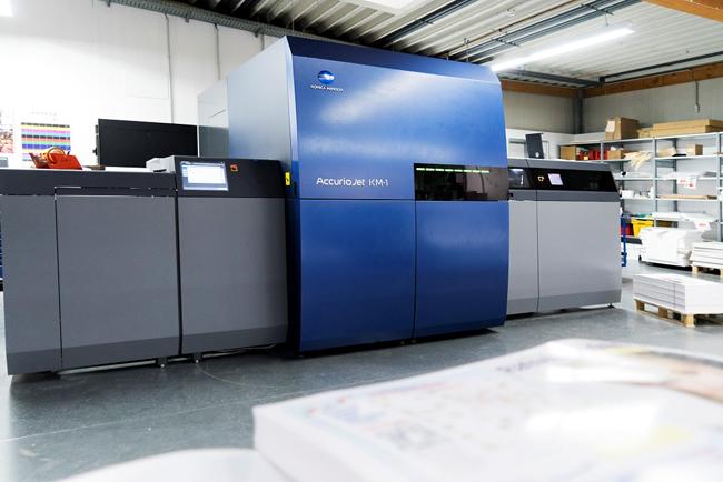 Konica Minolta supera las treinta instalaciones de AccurioJet KM-1 en todo el mundo