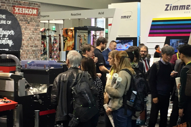 Xeikon celebrates Heimtextil 2018 sales success