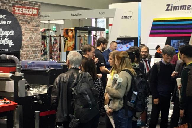 Xeikon celebra su éxito de ventas en Heimtextil 2018