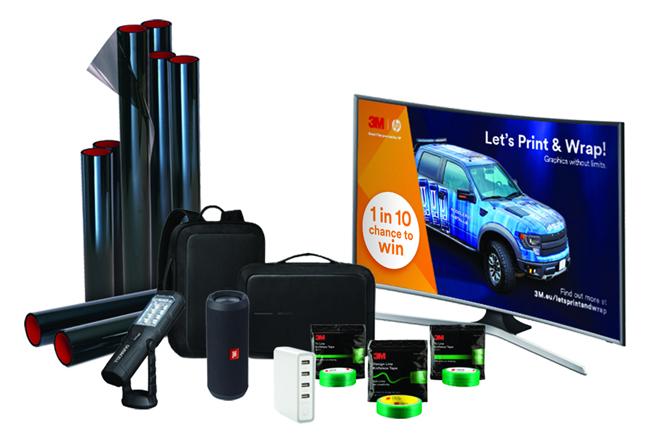 Concurso 'Let's Print & Wrap' con las láminas de impresión digital 3M™ para personalización de vehículos
