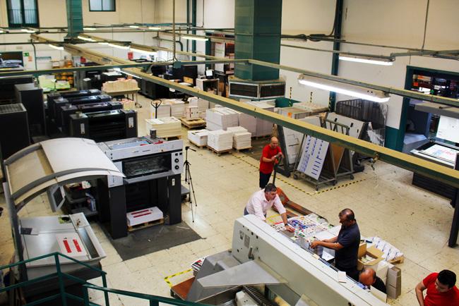 Gráficas la Paz realizará una importante inversión en 2018 para ampliar su área de impresión de libros digitales y offset