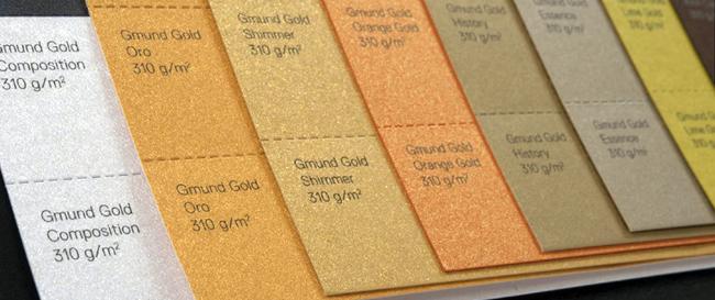 Unión Papelera distribuye GMUND Gold