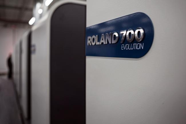 ROLAND 700 EVOLUTION Ultima®, la máquina de impresión definitiva