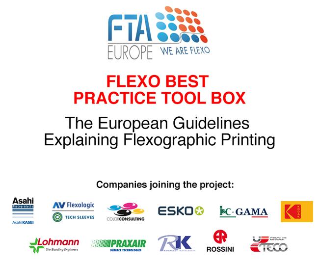 ¡Flexo Best Practice Tool Box (Guía de buenas prácticas para flexografía) – Incorporación de Kodak y trabajos en curso!