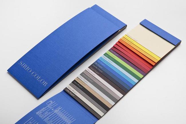 Todo el color de Sirio de Fedrigoni en versión MINI