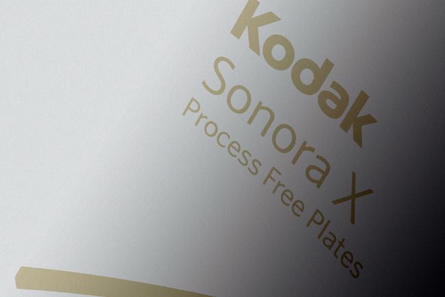 El liderazgo en la tecnología de las planchas sin procesado de Kodak da un paso adelante con la introducción de las planchas SONORA X