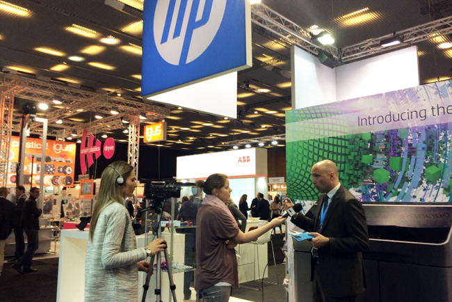 HP democratiza la impresión 3D en Advanded Factories 2018