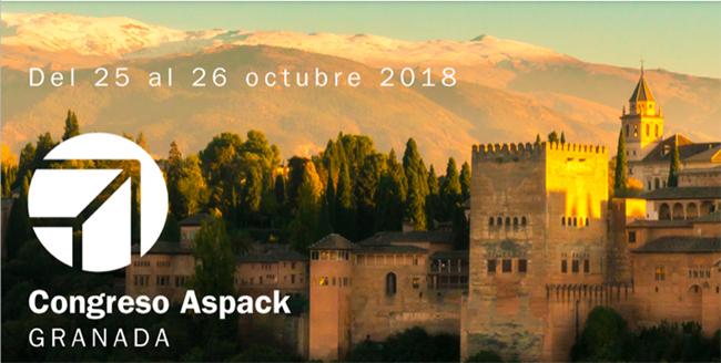 ASPACK celebrará su noveno congreso los días 25 y 26 de octubre en Granada