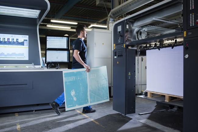 Agfa Graphics lanza Adamas, su más nueva plancha de impresión: potente, versátil y ecológica a la vez