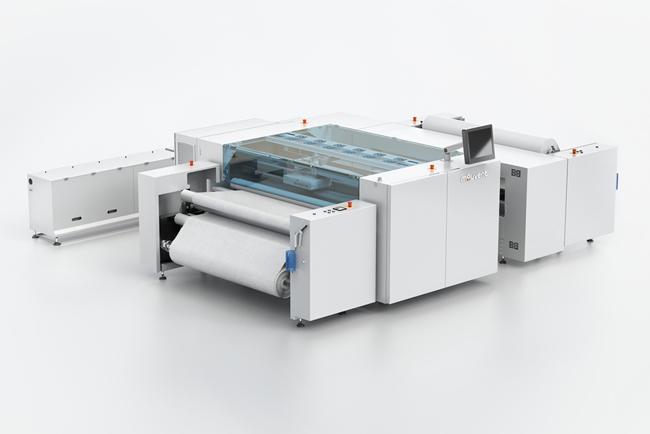 La revolucionaria impresora textil digital de 8 colores de Mouvent, la TX801, protagonista en ITM 2018