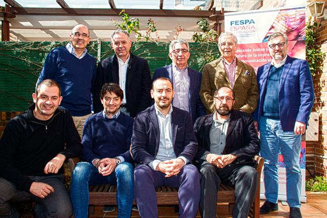 La nueva Junta Directiva de FESPA España celebró su primera reunión el 7 de marzo