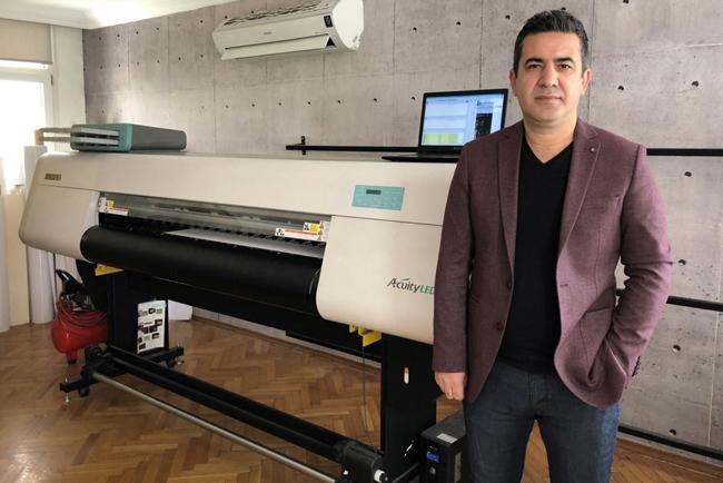 Una empresa especializada en diseño e impresión de papel pintado actualiza sus operaciones con la compra de la Acuity LED 1600 II de Fujifilm