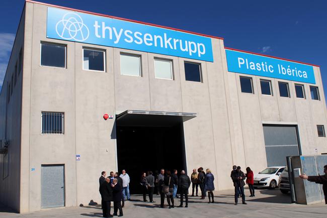 thyssenkrupp Plastic Ibérica inaugura unas nuevas instalaciones