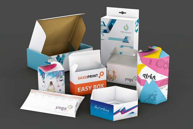 SAXOPRINT utiliza el diseño 3D para packaging