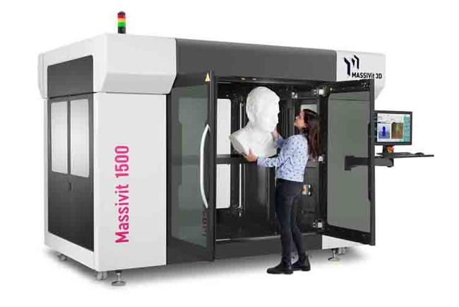 Massivit 3D amplía su oferta de soluciones de impresión 3D para aplicaciones de comunicación visual