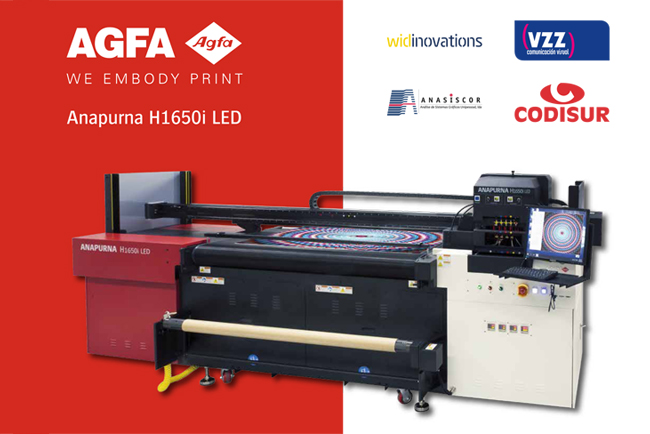 Open House de Agfa Graphics para presentar la nueva Anapurna H1650i LED