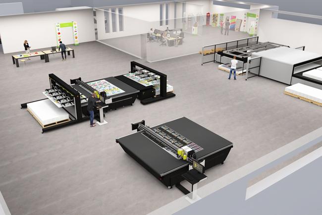 Esko señala el camino de la producción automatizada en la señalización, los displays y el cartón ondulado en FESPA