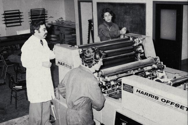 El Instituto de Artes Gráficas Tajamar celebra 50 años