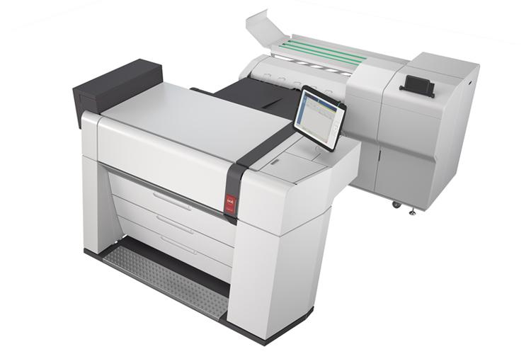 Canon presenta la nueva impresora color de gran formato Océ ColorWave 9000