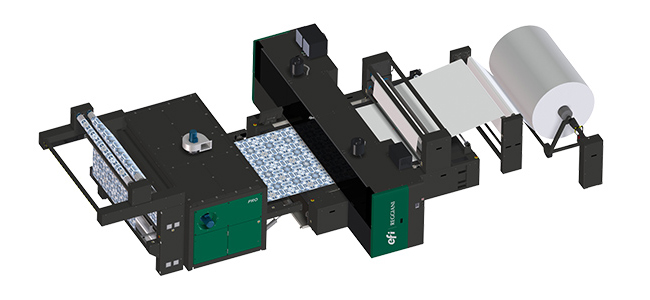 EFI ayuda a los clientes a alcanzar colores sin igual con la nueva impresora textil Reggiani