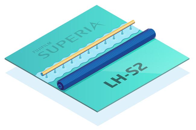 Nueva plancha Fujifilm Superia LH-S2, baja en químicos