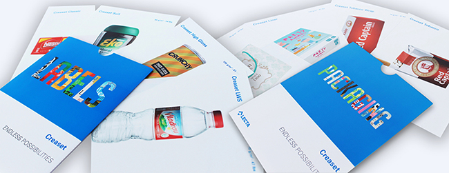 Lecta presenta una nueva colección de muestras impresas para su gama Creaset