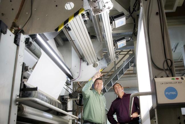 FUTEC suministra el sistema número 10.000 y desarrolla herramientas de aprendizaje automático para impresores de flexografía