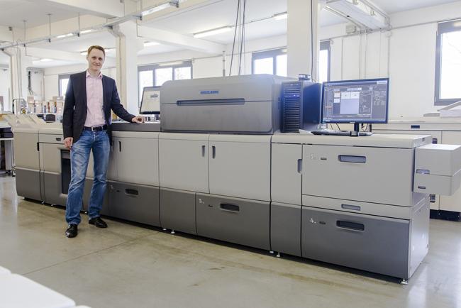 Heidelberg presenta el nuevo sistema de impresión digital de alto rendimiento Versafire EP