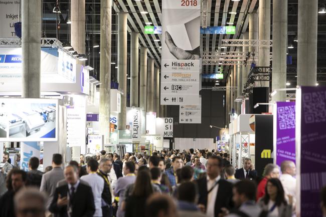 Hispack y FoodTech Barcelona 2018 cierran una edición marcada por la digitalización y la sostenibilidad