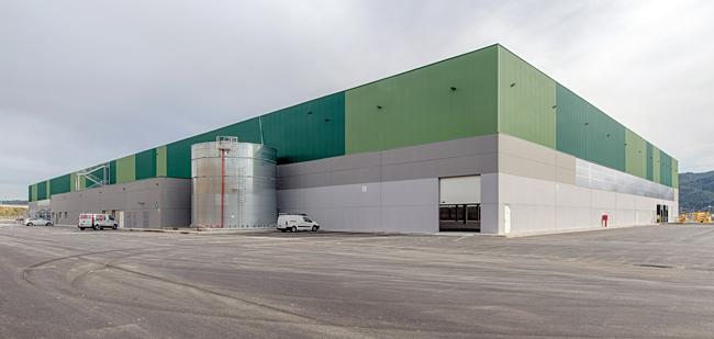 INBISA finaliza la construcción de un nuevo almacén logístico para SAICA PACK en Sant Esteve Sesrovires