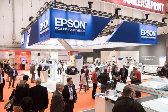 Epson muestra el trabajo de futuros diseñadores en FESPA 2018