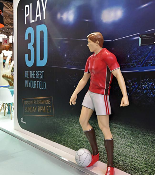 La impresora Massivit 1500 Exploration 3D hace su debut en Europa en la Fespa