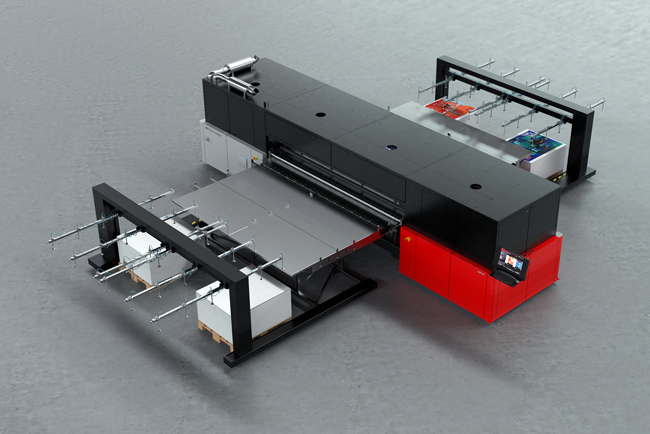 Agfa Graphics es EXTREME en Fespa 2018 y lanza la impresora híbrida Jeti Tauro H3300 LED