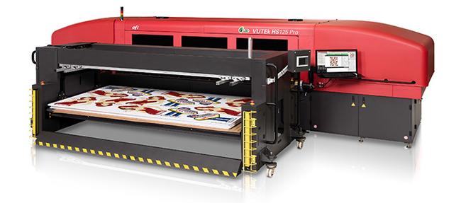 EFI desembarca en FESPA con tecnologías rompedoras como una nueva generación de impresoras inkjet híbridas y tintas más ecológicas para tejidos