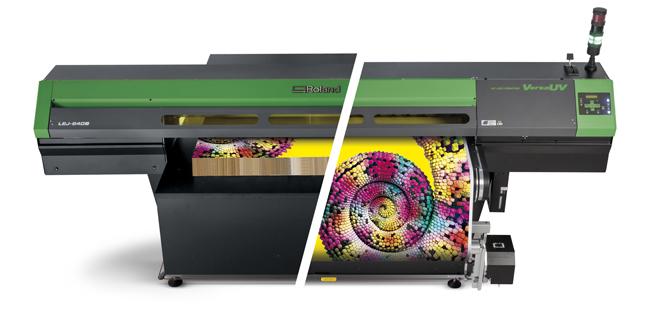 Roland DG presenta en la FESPA la máxima calidad y versatilidad en impresión UV con la serie VersaUV S