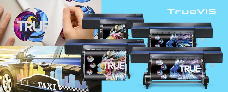 Las soluciones de impresión y corte eco-solventes TrueVIS de Roland superan las expectativas del mercado