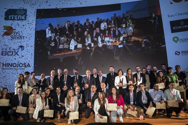 Hinojosa patrocina los IX Premios Nacionales de Envase y Embalaje