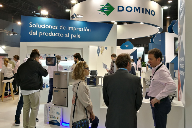 Domino valora muy positivamente su participación en Hispack 2018