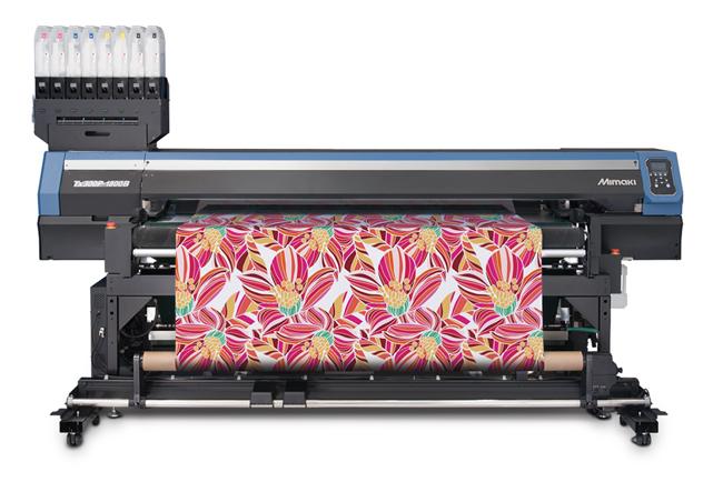 Mimaki demostró en Fespa 2018 un ecosistema completo de impresión textil digital
