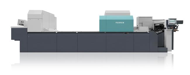 La impresora Jet Press 720S de Fujifilm, beneficiaria de una exención fiscal medioambiental en los Países Bajos