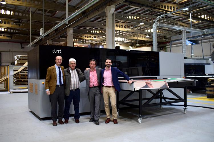 Se instala en Panorama la primera impresora de la serie P5 de España