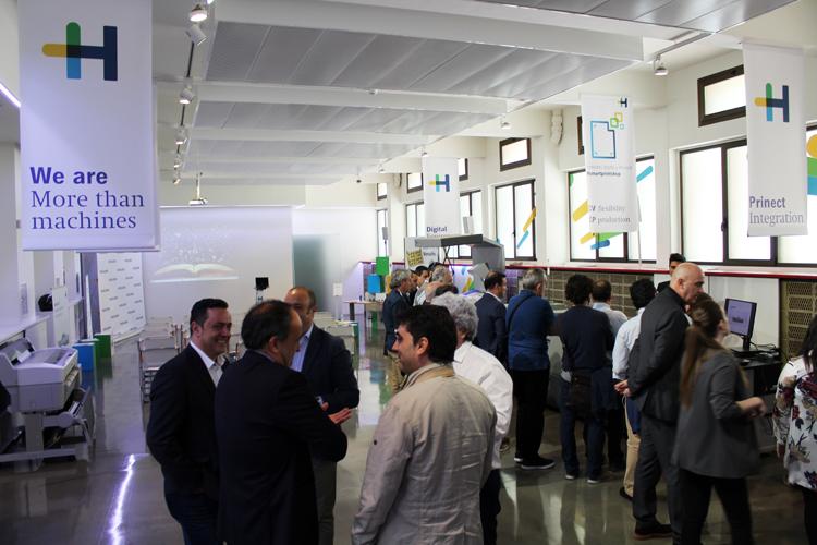Heidelberg Spain presenta en sus intalaciones la nueva Versafire EV